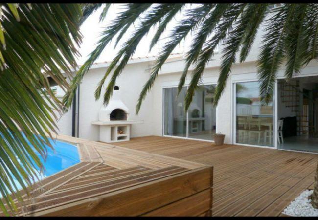 Huis met prive zwembad